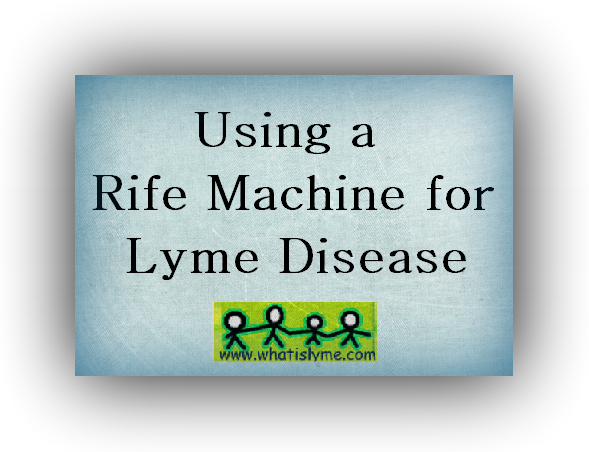 alternative treatments for lyme