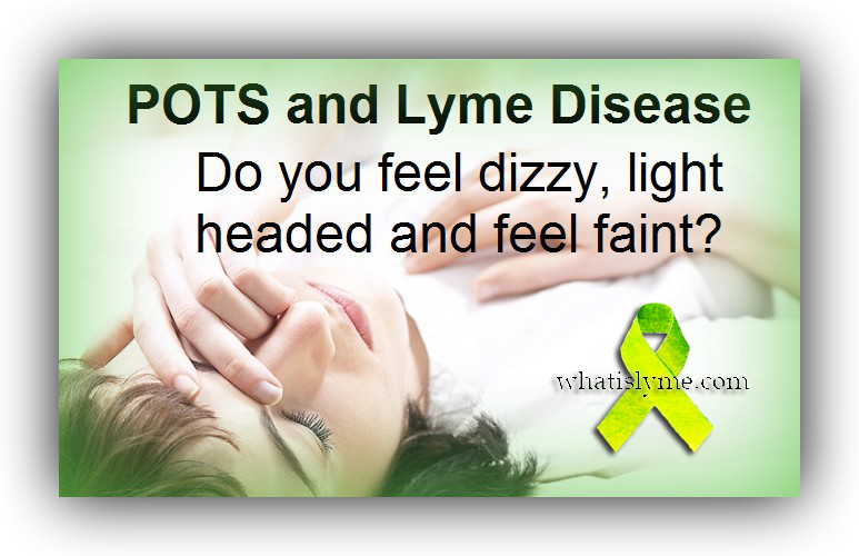 Pots is a condition that many lyme patients have