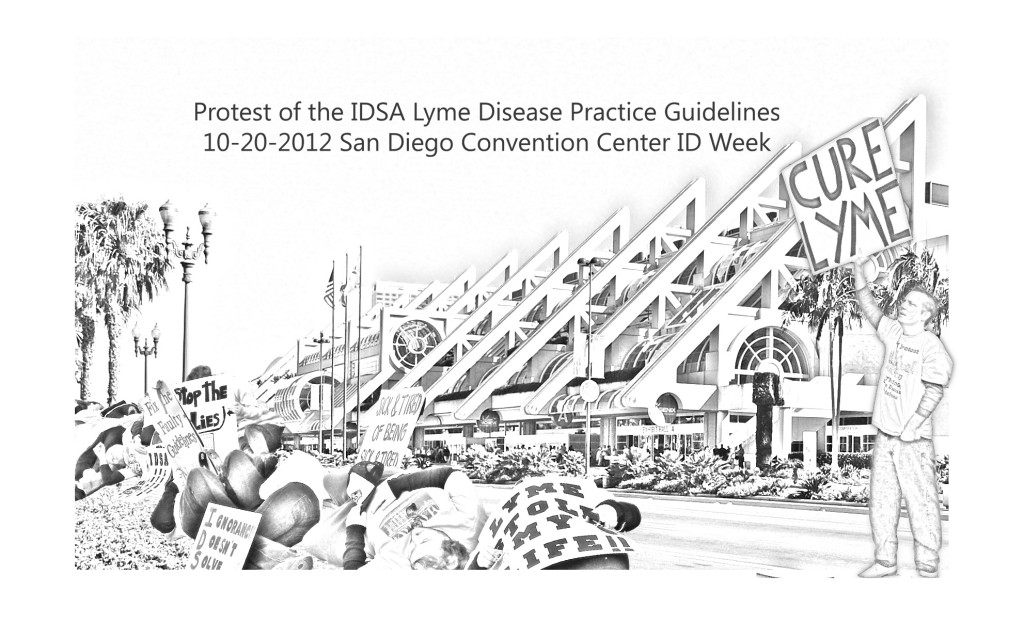 Protest of the IDSA Lyme Disease Guidelines ID Week San Diego