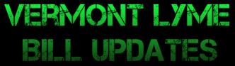 Vermont Lyme Bill Updates