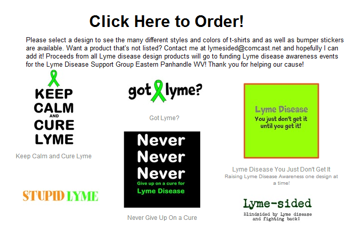 Lyme Awareness Products