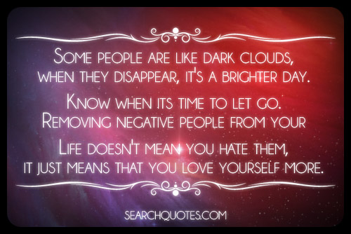 Removing Negative People Quotes: Dealing With Negative People?