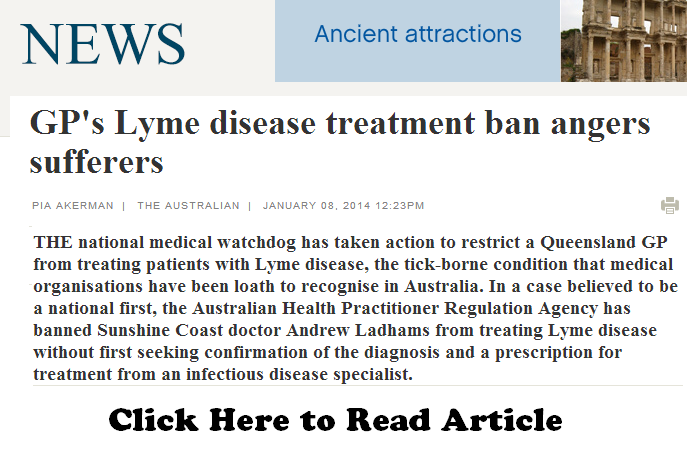 GP's Lyme disease treatment ban angers sufferers