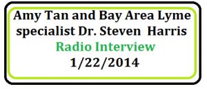 Interview with Amy Tan and Dr Harris