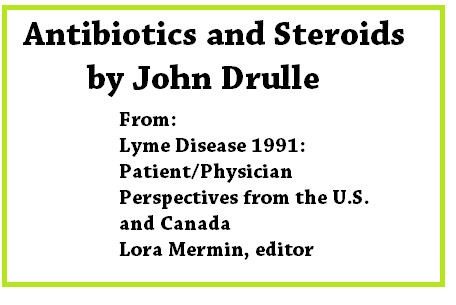 steroids and lyme