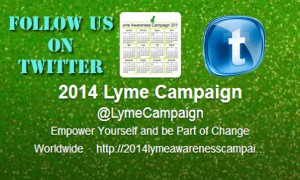 Twitter lyme awareness campaign