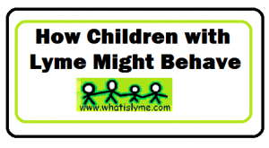 children with lyme