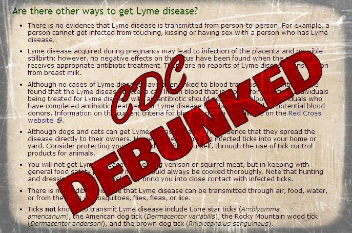 CDC Debunked