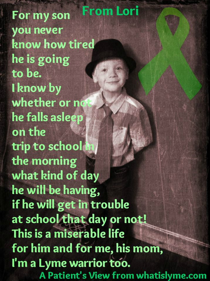 From a Lyme Mom