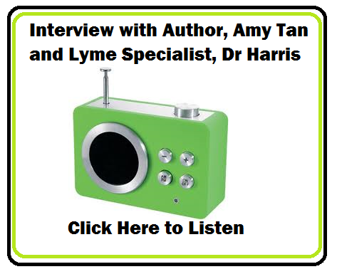 amy tan, dr harris radio interview