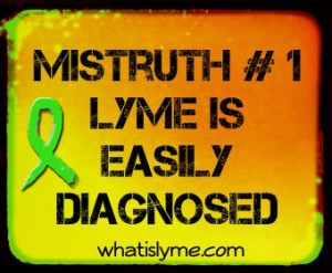 lyme is not easily diagnosed