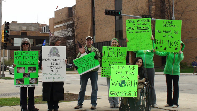 Greenbay Lyme Protest Photo Credit