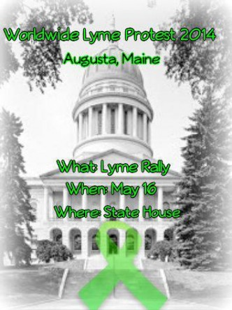 Maine Worldwide Lyme Protest 2014