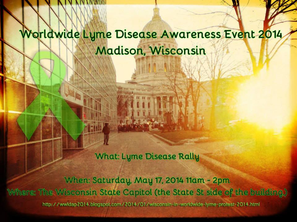 Madison Wisconsin Worldwide Lyme Protest