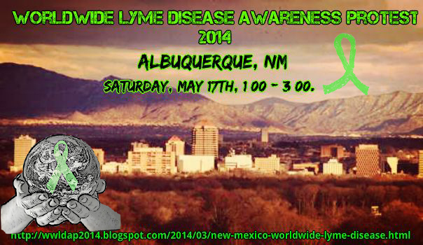New Mexico Wolrdwide Lyme Protest