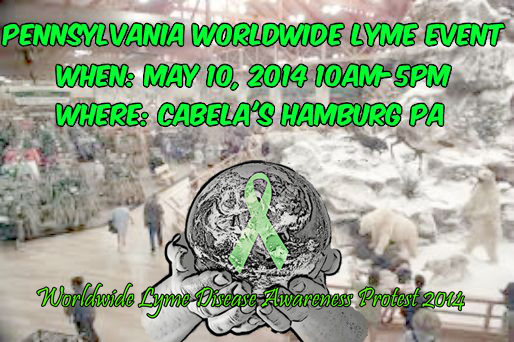 Pennsylvania in the Worldwide Lyme Protest