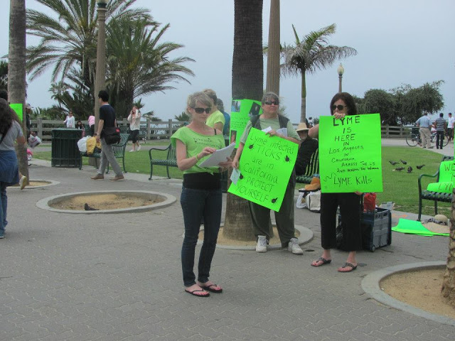 California Worlwide Lyme Protest