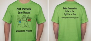 Worldwide Lyme Protest 2014 Shirts