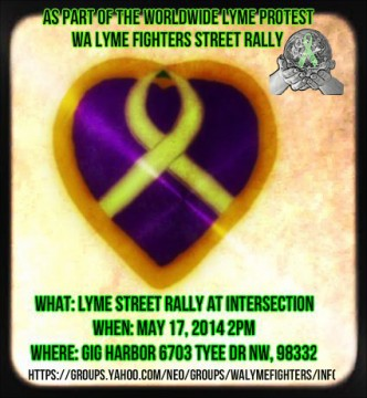Washington Street Rally for Lyme Disease