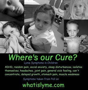 Children with Lyme Disease Awareness Poster
