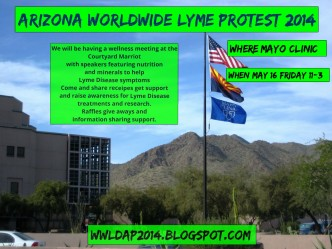 Worldwide Lyme Protest in Arizona