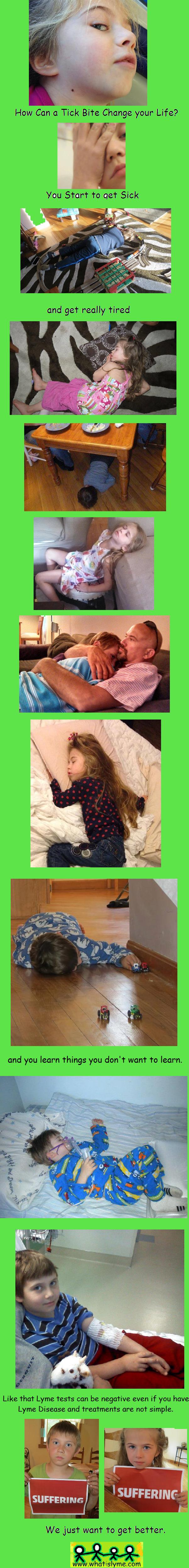 Kids with Lyme Disease