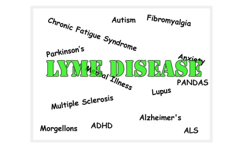 lyme related to als, ms, lupus, parkinsons and more.