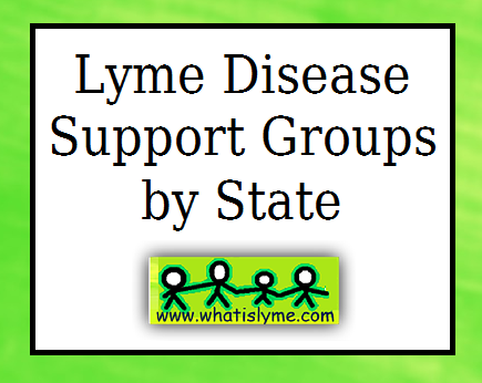 list of lyme disease support groups
