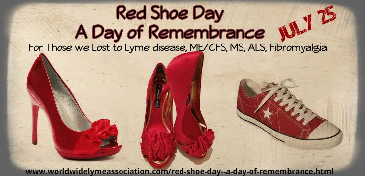red shoe day