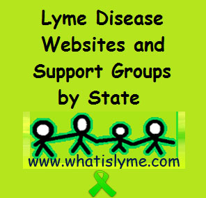 lyme disease support groups and websites
