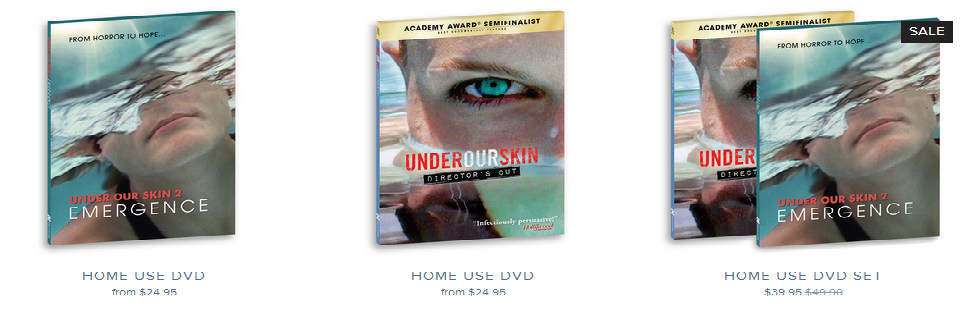 Under our Skin 3: Emergence is now released!