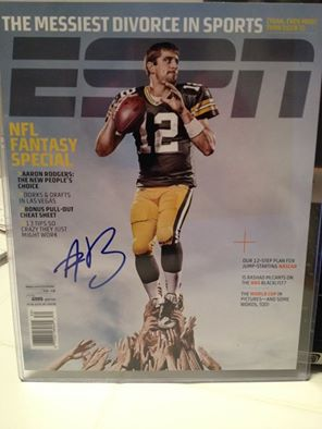 Aaron rodgers signed