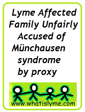 lyme munchausen syndrome by proxy
