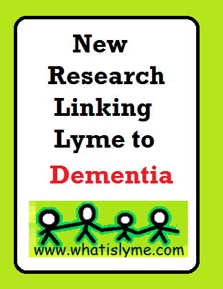 lyme and dementia
