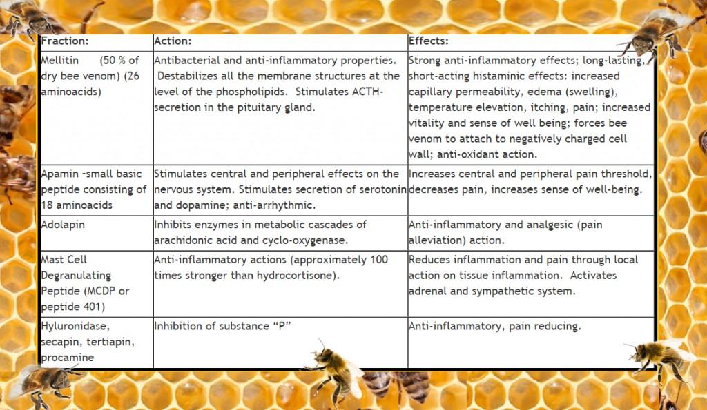 bee venom benefits