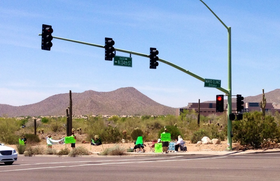 Arizona Worldwide Lyme Protest