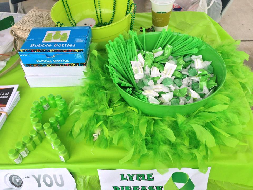 worldwide lyme protest in south carolina