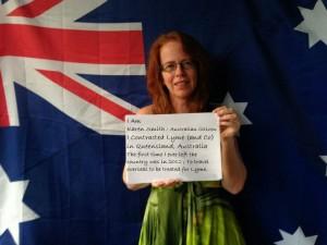 Karen Smith Austrlian Lyme activist