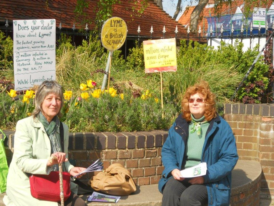 UK Lyme awareness protests