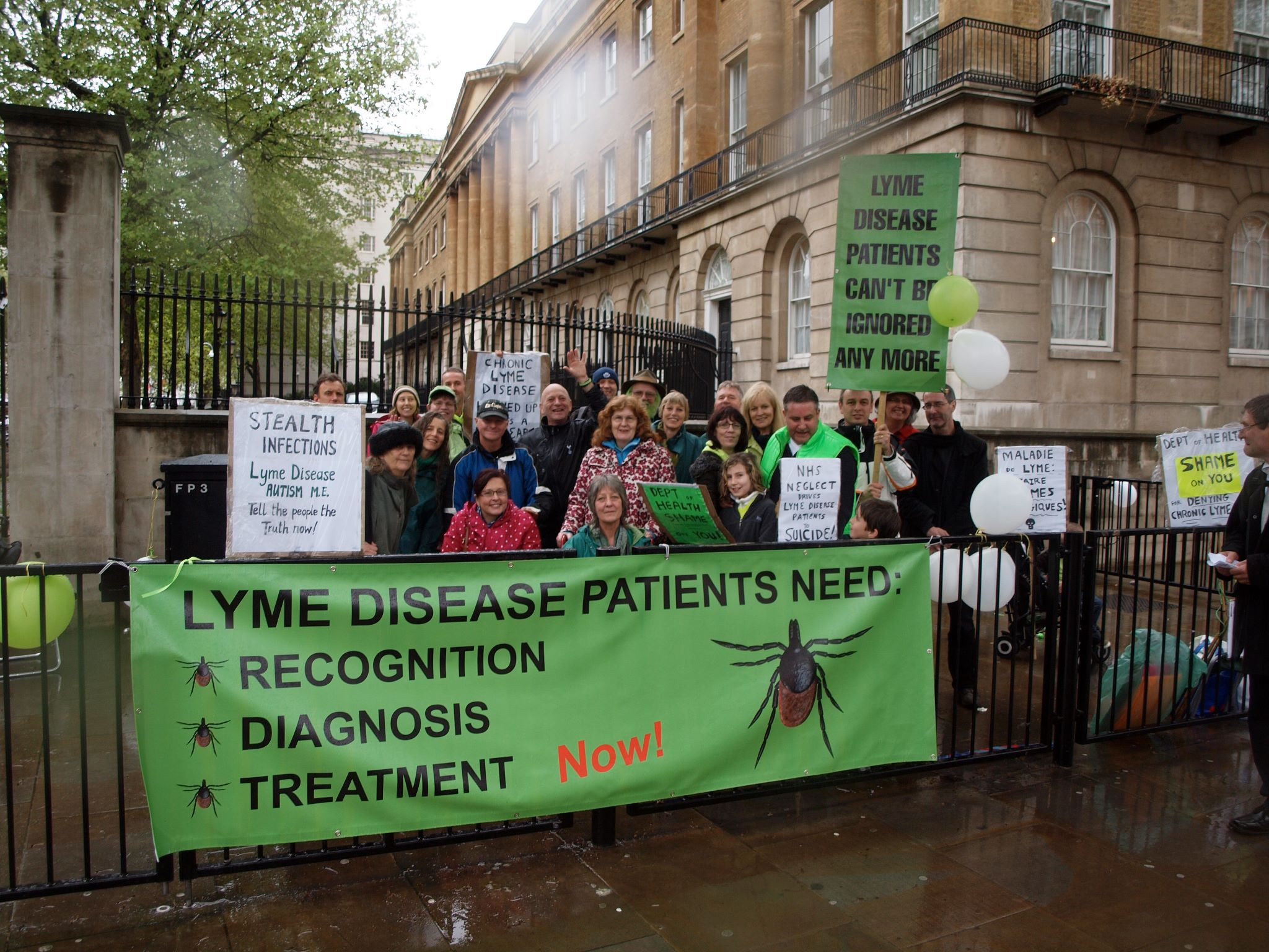 Denise-London-Lyme-Protest