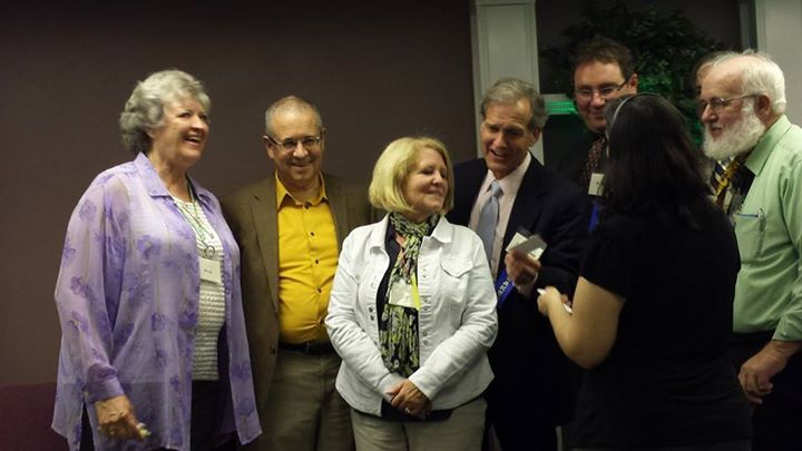 """Group candid — at """"Hopes for Tick Borne Illnesses"""" 4th Annual Lyme411 Conference."""