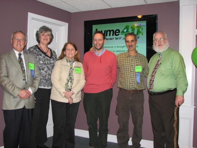 Robert Giguere, Nancy Symmes Bourassa, Ellen Young, RN, Dr Geordie Thomson, Dr Jeff Greenfield and Ed Darling.