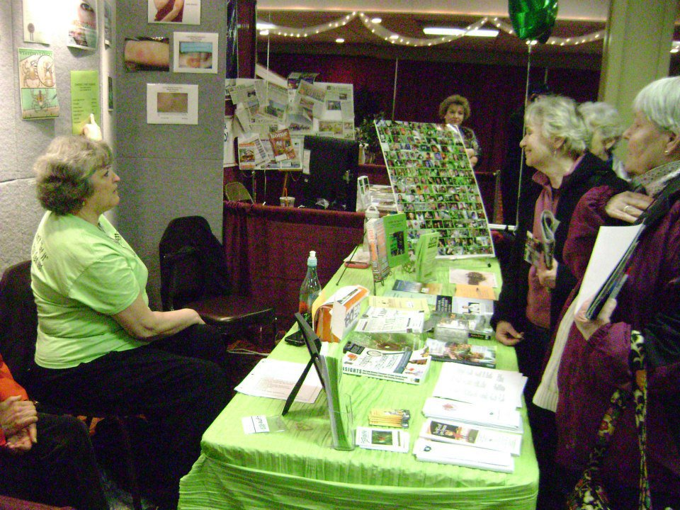 2013 Home Show: Lyme Awareness booth
