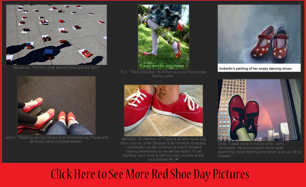 red shoes day