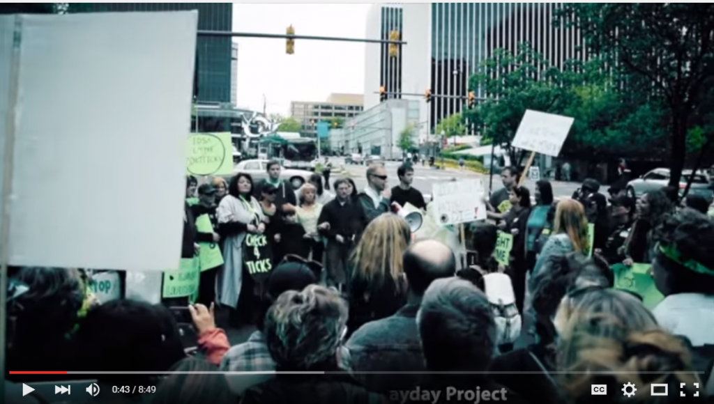 The Mayday Project video by sarah and rick