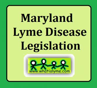 mayland lyme b8ills legislation