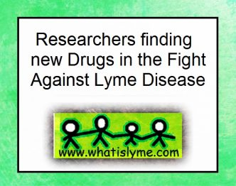 lyme researchers are finding new drugs
