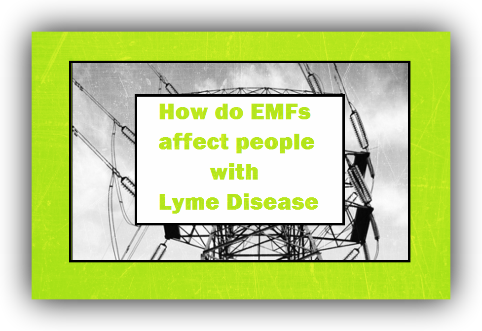 electric magnetic fields and radiation lyme disease