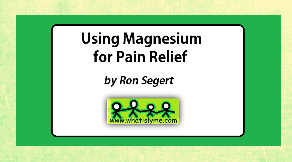 Lyme Disease supplements herbs magnesium