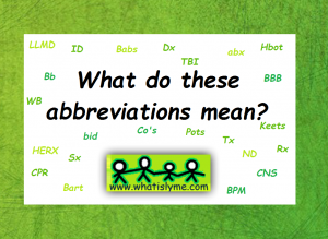 lyme disease abbreviations